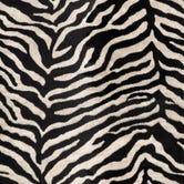 Mini Swatch: Black Zebra Velvet