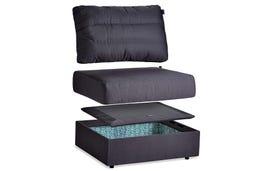 Sactionals Storage Seat Insert Set: Lovesoft